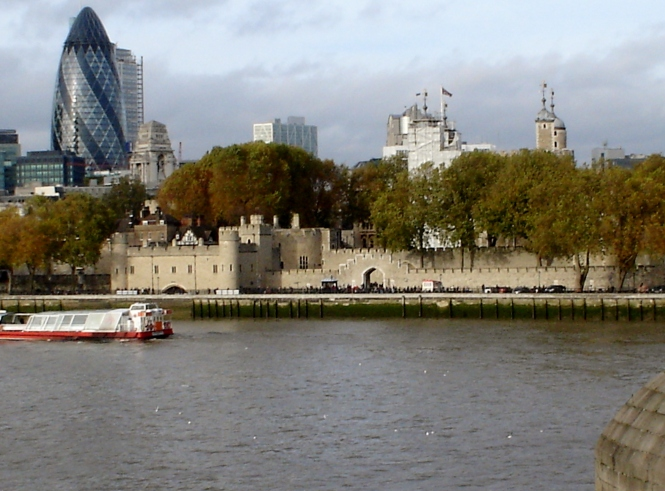 Perimeter of Tower of London