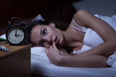 Another 3:00 am night... (Picture from http://www.dreamstime.com/stock-photo-woman-lying-bed-sleepless-night-image45620433)