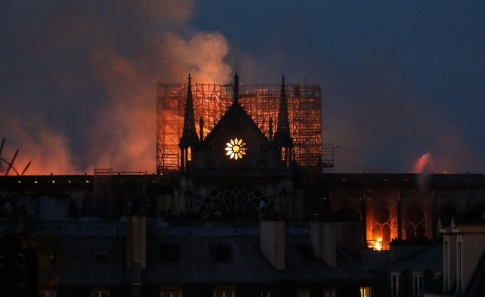 Out of the Ashes (Dedicated to NotreDame)