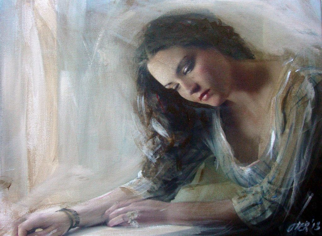the-love-letter-william-oxer-on-deviantart-paintings-of-sad-sad-woman-paintings
