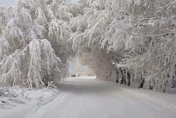 And so the snowfalls…